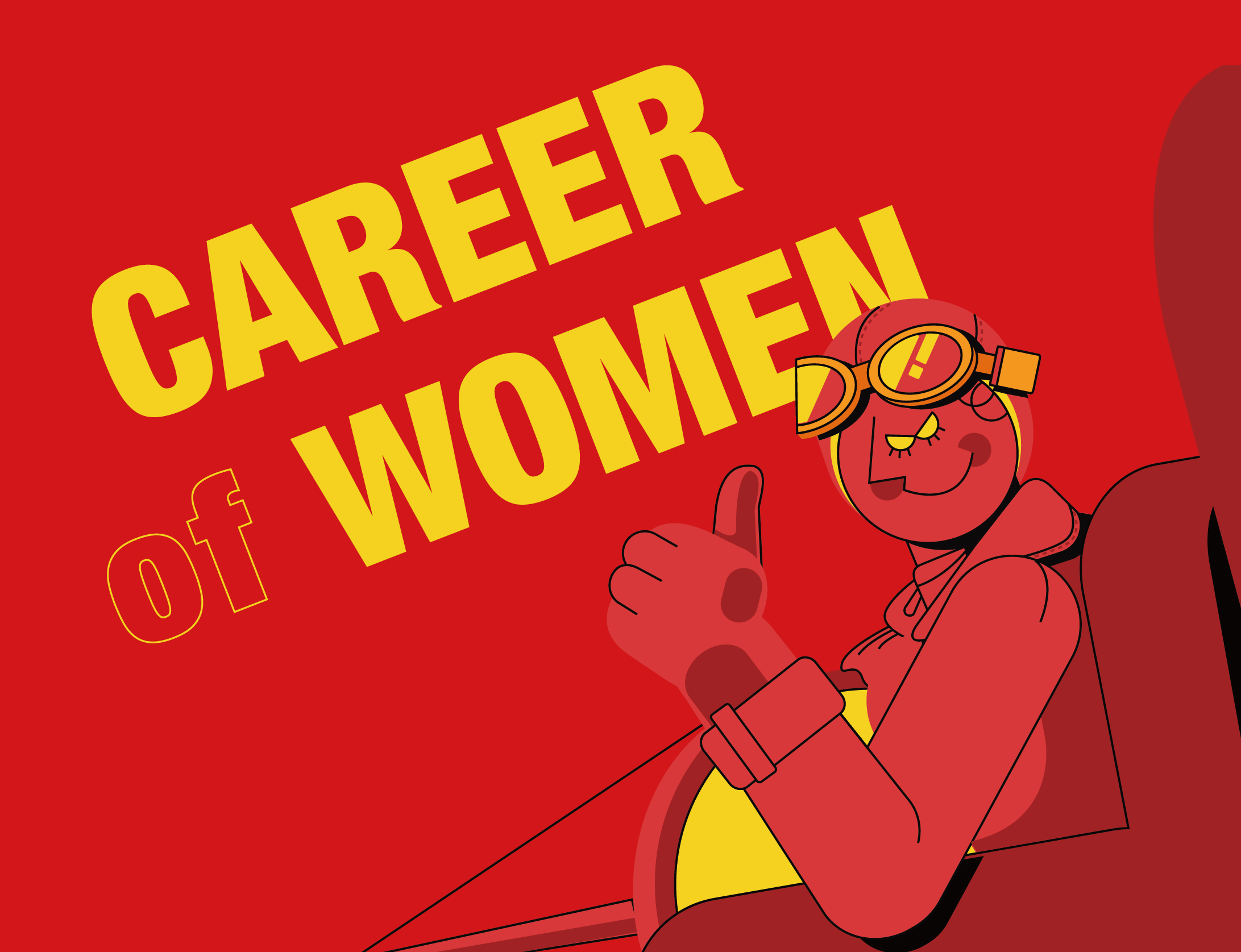 CAREER (of) WOMAN!